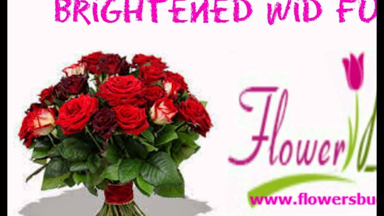 Send Birthday Flowers To Hyderabad Youtube