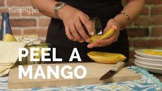 Mango Peeling Trick | Yummy Ph