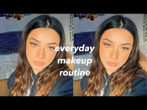 UPDATED EVERYDAY NO FOUNDATION MAKEUP ROUTINE