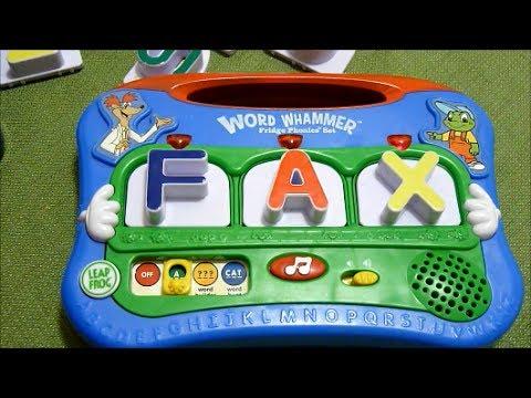 review-of-leapfrog-word-whammer-fridge-phonics-set---year-model-2004