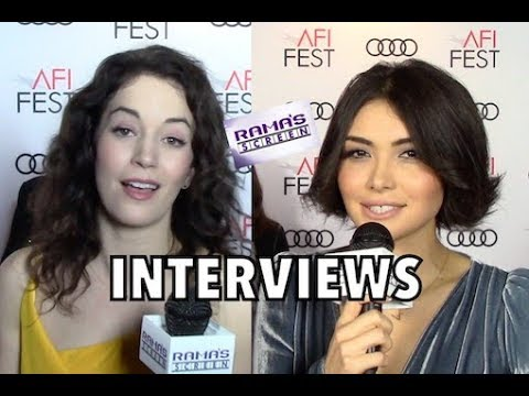 My 'MR. ROOSEVELT' Premiere Interviews with Britt Lower and Daniella Pineda