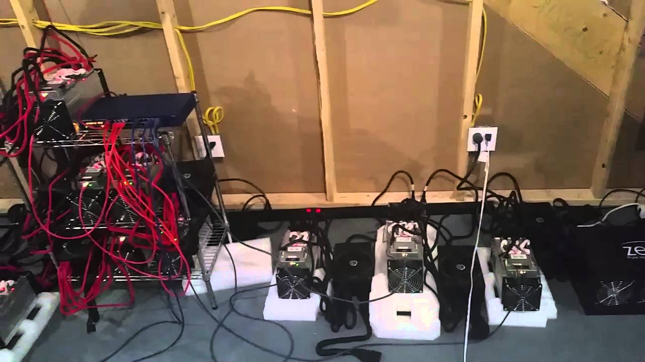 Antminer S7 Electrical Setup Youtube