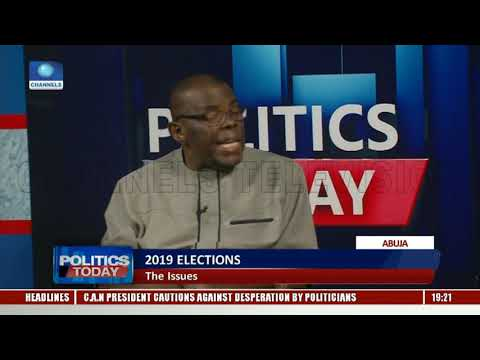 Ex-AIG, NIM DG Reveal Fears For 2019 Elections Pt.2 |Politics Today|