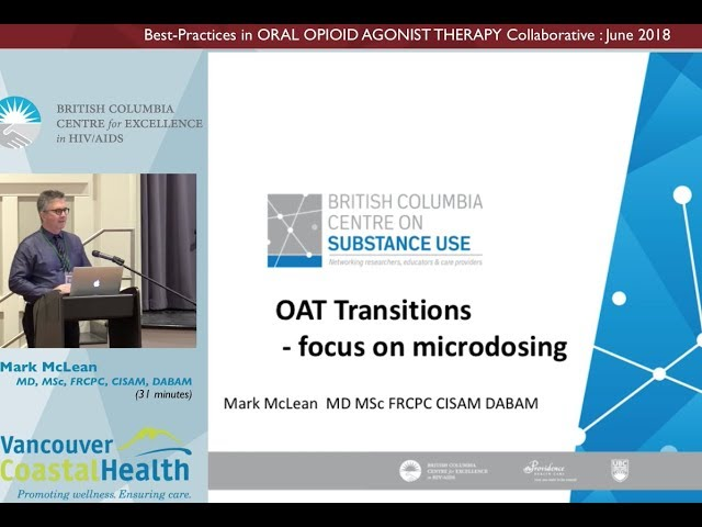OAT Transitions-Focus on Microdosing
