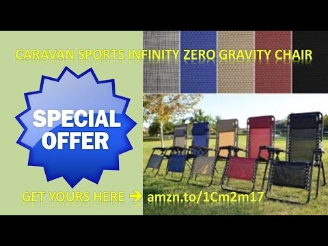 Caravan Sports Infinity Oversized Zero Gravity Chair|Caravan Canopy|save|discount|review|mult  Colors