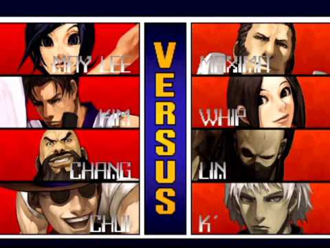 The King of Fighters 2001 (PlayStation 2) Arcade as Korea Team