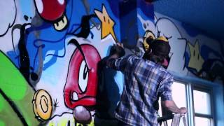 Graffiti Jam 2013 at The Creative Clubhouse (Alberta Culture Days)