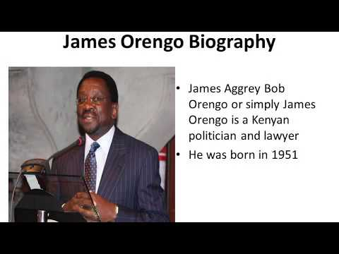 James Orengo Biography, Age, Wealth, Education, Wife, Life and Political History