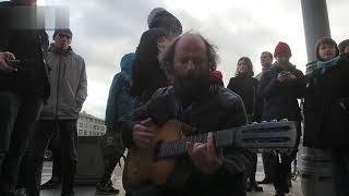 Это юное слово Свобода Песня Акция Лубянка Svoboda Freedom Song Moscow Russia Civil Activism Protest