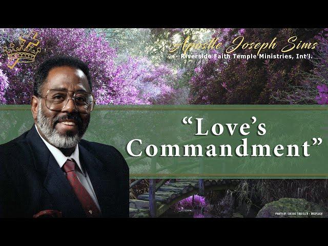 Audio Sermon - Love's Commandment, Ephesians 4