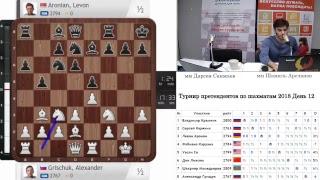 Турнир претендентов по шахматам 2018 12-й тур
