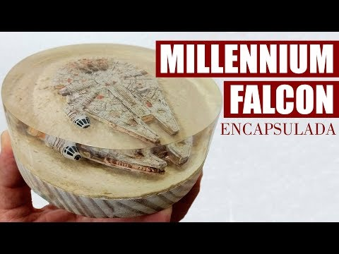 MILLENNIUM FALCON ENCAPSULADA - Faça a sua! (Star Wars)