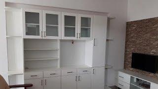Brown & White Colours Smooth Matte Finish For Ramya Modular Kitchen,  Mrs. Krishnapriya Kolathur,