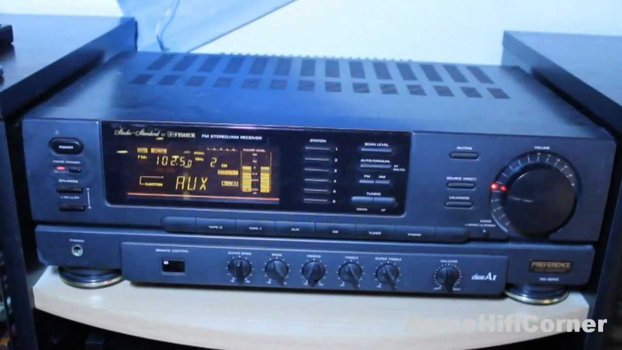 Fisher RS-9040 FM Stereo/AM Receiver