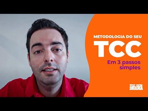METODOLOGIA DO SEU TCC EM 3 PASSOS SIMPLES