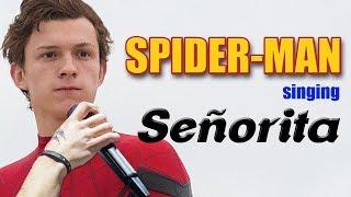 Spider Man singing Señorita (shawn mendes & camila cabello)