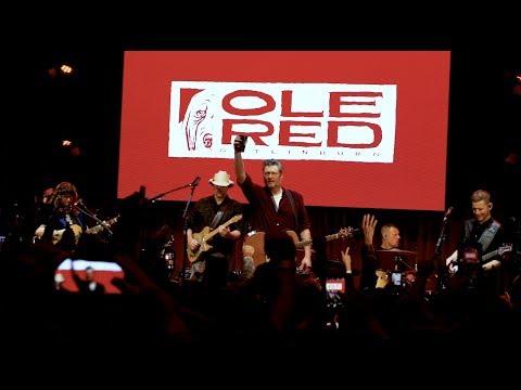 Blake Shelton - Ole Red Gatlinburg Grand Opening BTS