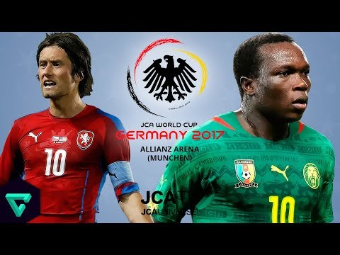 Czech Republic vs. Cameroon | Group F | 2017 JCA World Cup Germany | PES 2017