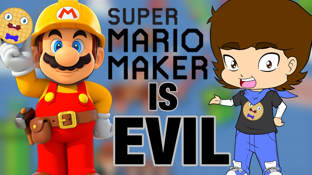 Download Super Mario Maker IS EVIL! - ConnerTheWaffle