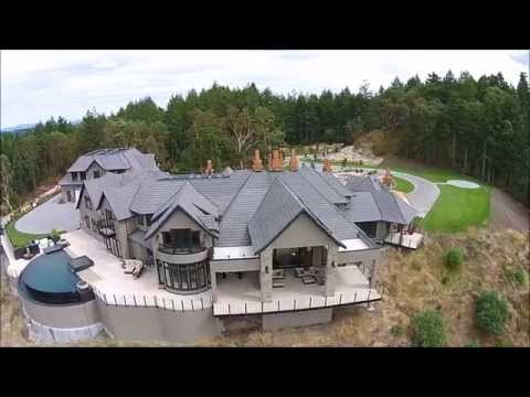 6720 Willis Point Road. Victoria's Finest Luxury Estate with helipad.