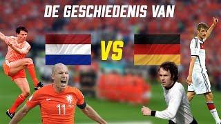 Van Lenstra tot Robben: De Veelbewogen Historie van Nederland-Duitsland
