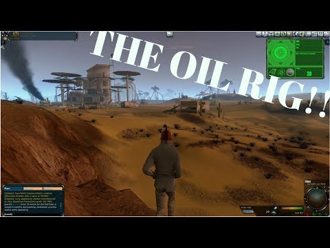 Entropia Universe: A 25 Ped Mining Run At The Oil Rig!!!
