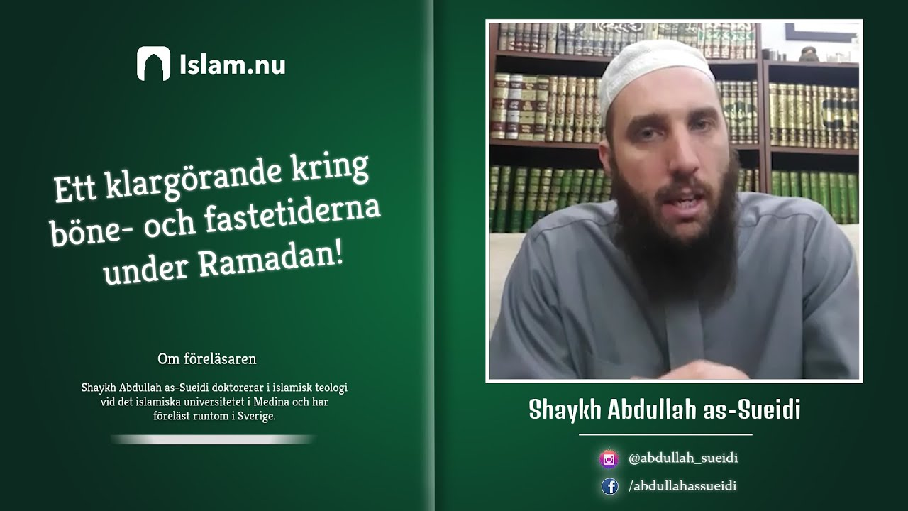 Varför skiljer sig bönetiderna mellan olika islamiska föreningar?