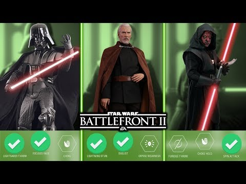 TOP 10 BEST VILLAIN ABILITIES 2019! Star Wars Battlefront 2 thumbnail