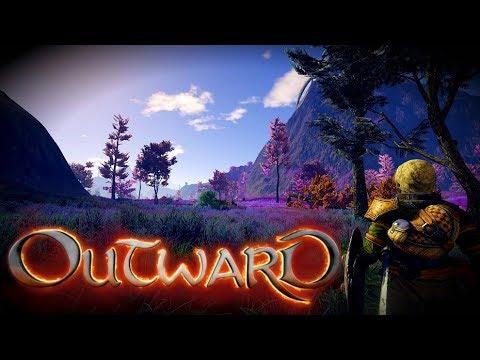 Релиз Outward - Новая RPG песочница-выживалка - Кооператив прохождение  #1 | GTX 1060, Xeon W3680