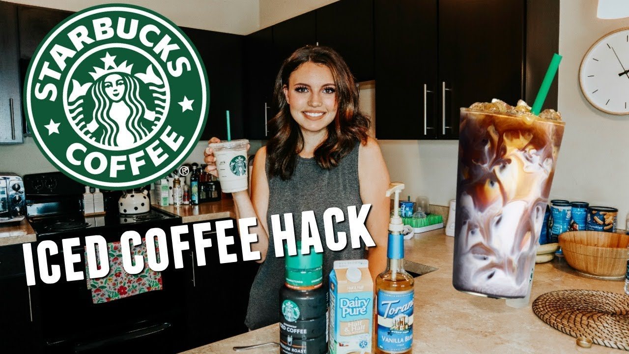Download HOW TO MAKE STARBUCKS ICED COFFEE AT HOME | BRENNA LYONS