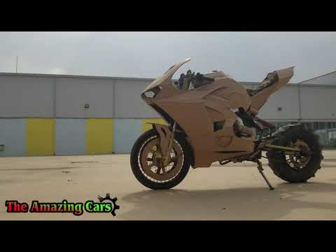 Homemade ducati panigale v4s with 10$