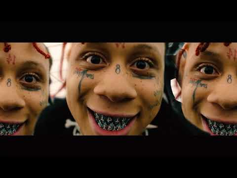 """Trippie Redd Goes on a Chaotic, Tripped-Out Journey for New """"!"""" Visual"""