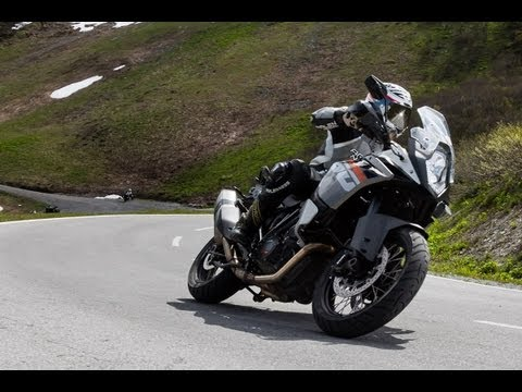 KTM 1190 Adventure - Test in den Alpen