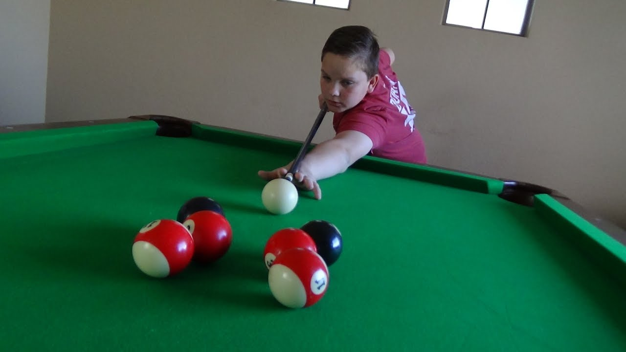 Pool Trick Shots 4 | Kid Magic