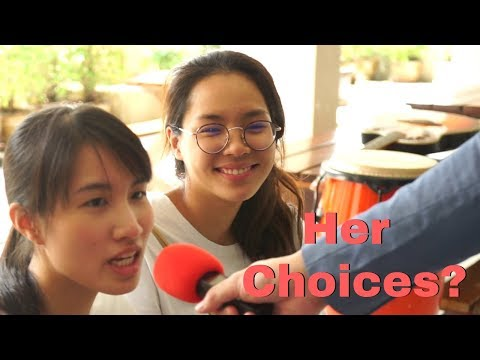 What nationality would Thai women prefer? - คุณชอบคนชาติไหน Interview