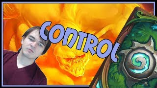 One hell of a control game | Big spell mage | The Witchwood | Hearthstone