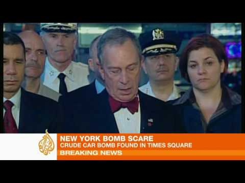 Bomb scare in New York city