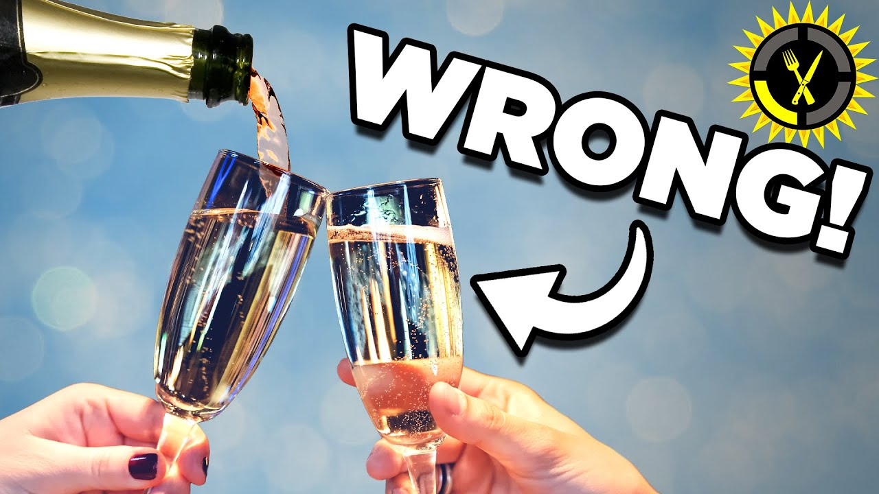 Food Theory: You Are Drinking Your Champagne WRONG!