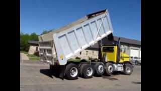 2000 Peterbilt 378 quad axle dump truck for sale | sold at auction June 20, 2013