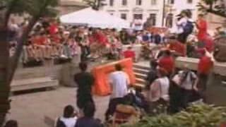 skateboarding - x-games 2001 skateboard best trick street