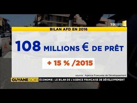 Economie: Le bilan de l'AFD (Agence française de développement) en Guyane