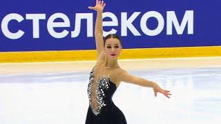 Елизавета Нугуманова Короткая программа Женщины Кубок России 2020 21 Четвертый этап