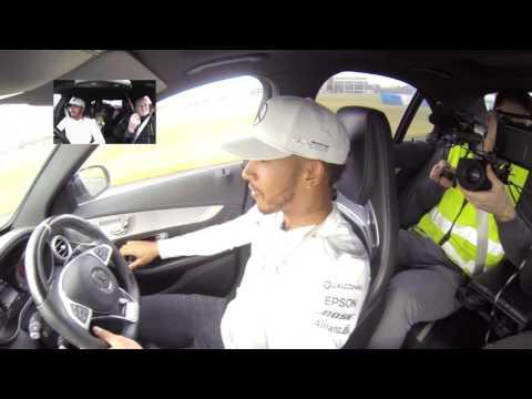 C63 Mercedes-AMG Driving