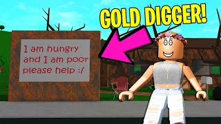 I Tried Catching A GOLD DIGGER.. It Worked PERFECTLY (Roblox)