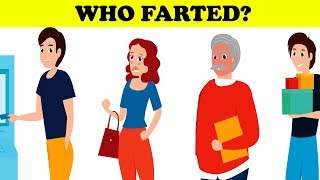 Who farted? 😂|  Tricky riddles with answers, brainteasers,  #Puzzle 13 | Riddle talk