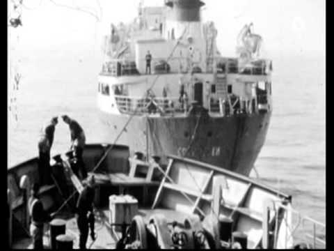Former Rostock deep-sea fishermen in DDR times