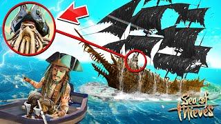 КАПИТАН ДЖЕК ВОРОБЕЙ VS ЛЕТУЧИЙ ГОЛЛАНДЕЦ! 1 ГЛАВА НОВОЙ ИСТОРИИ! ОБНОВЛЕНИЕ В SEA OF THIEVES