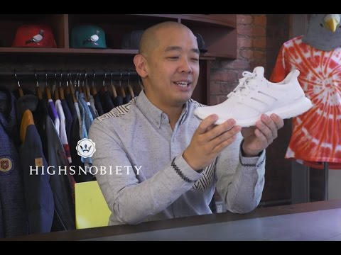 Which Sneakers Is Jeff Staple Currently Wearing?