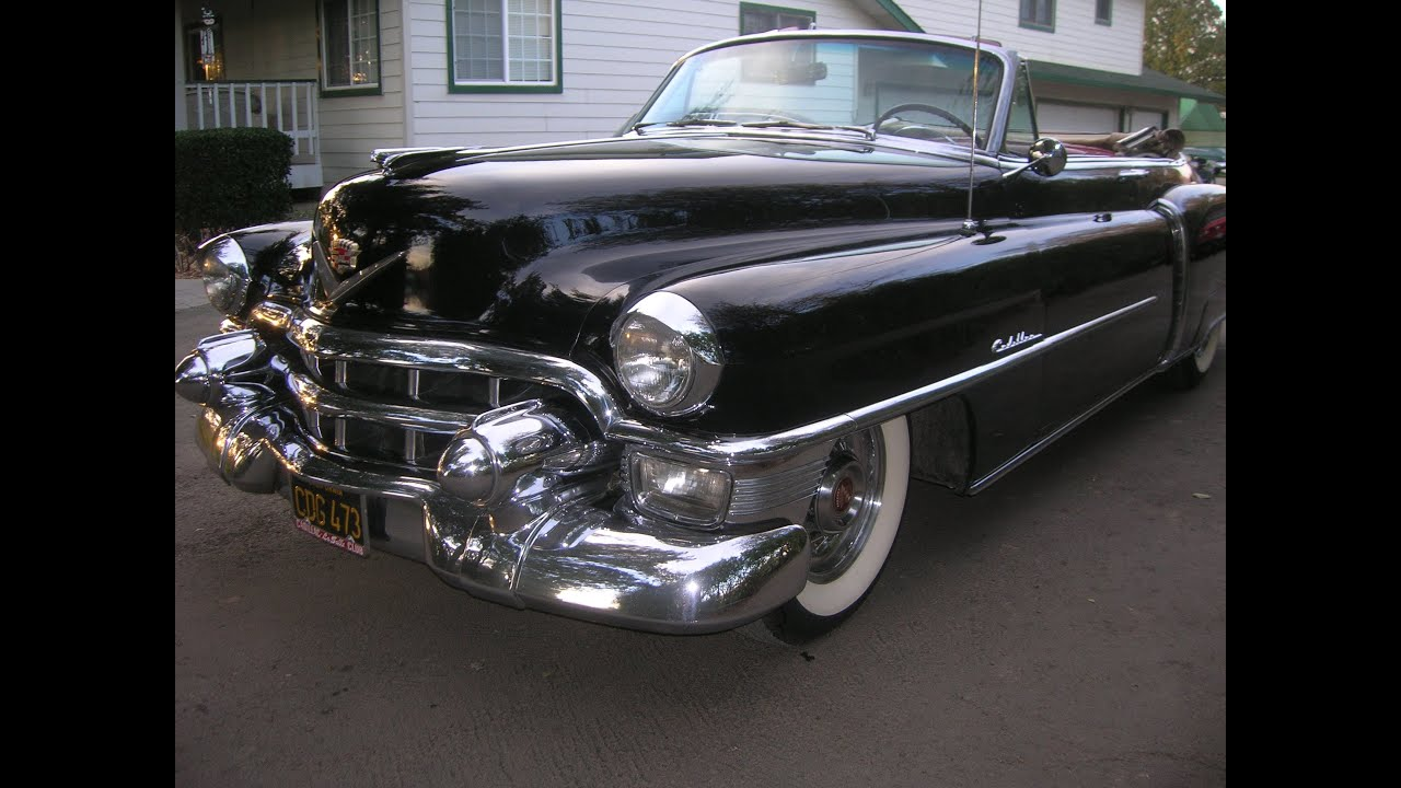 1953 Cadillac Convertible Road Test March 1 2013 - YouTube
