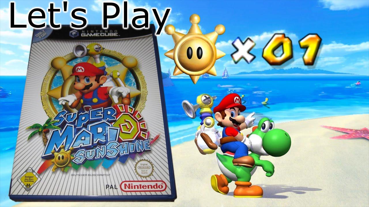 Let\'s Play Super Mario Sunshine (100%) [01] Sonne, Strand und... Farbe?
